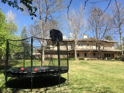 Backyard Trampoline, Outdoor trampoline, 12ft trampoline, Denver