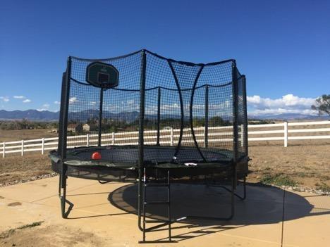 trampoline installers denver and colorado springs
