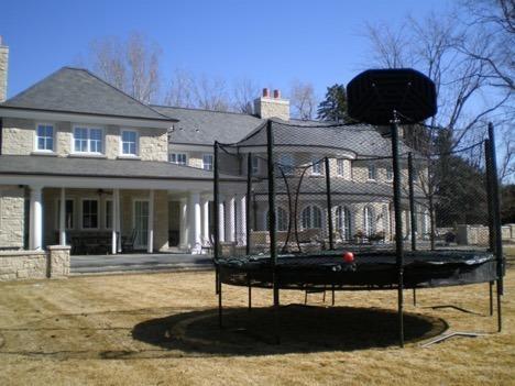 large trampoline denver, Delivery, installation, and maintenance