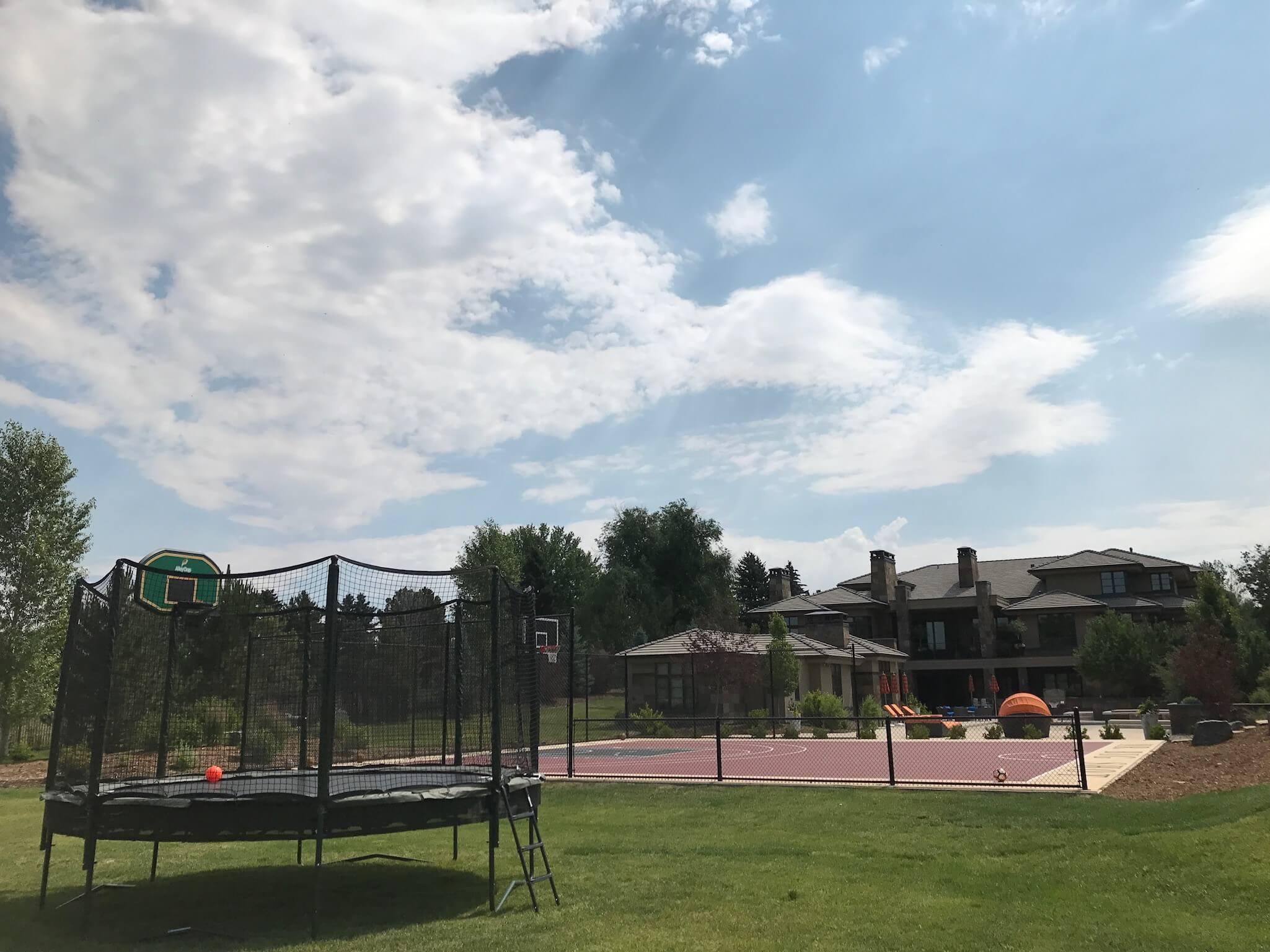 trampoline delivery, installation, for sale in denver