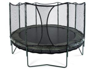 double bounce trampoline
