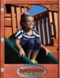 cover of the 2021 backyard fun factory catalog